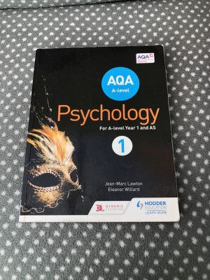 AQA A-level Psychology (A-level year 1 & AS) Book 1