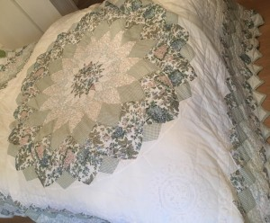 Kingsize Quilted Bedspread