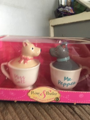 Miss salt and mr pepper shakers