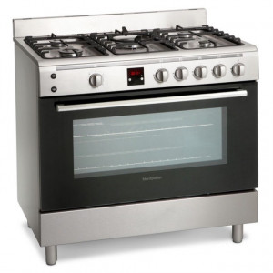 Montpellier MR90GOX Gas Range Cooker- Stainless Steel £499