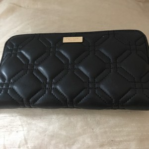 Kate space black new purse