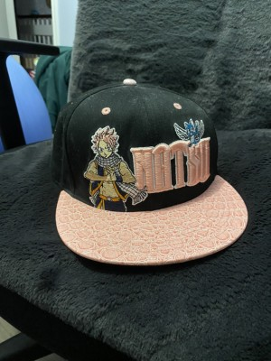 Fairy tale natsu leather SnapBack almost new