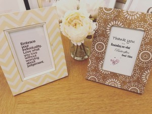 Only £6 each! New designs in lovely quirky wooden frames.  Can be personalised and any design you wish. Message for info