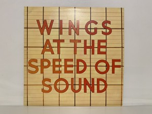 """Paul McCartney Wings At The Speed Of Sound Vinyl 12"""" LP Record Music"""