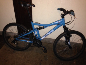 Rock rider 60 bike in good condition, back brake is broken but very easily fixed