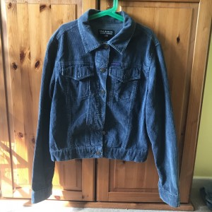 Ralph Lauren cord jacket in good condition size 10/12 price includes P&P