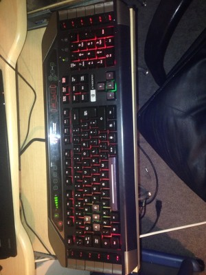 gaming set (mouse keyboard headset)