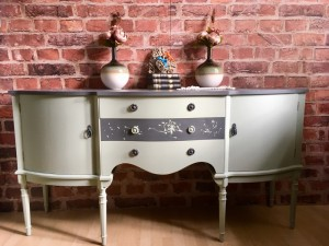 Unique Hand Painted Strongbow Furniture Sideboard