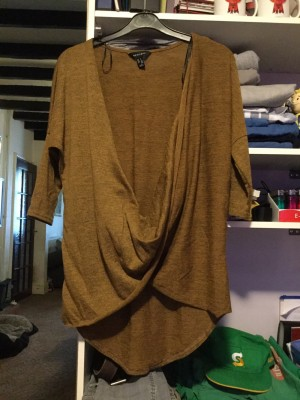 Ladies Brown Jumper - Size Small