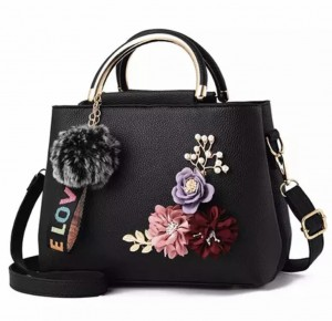 Small Flower decoration ladies bags