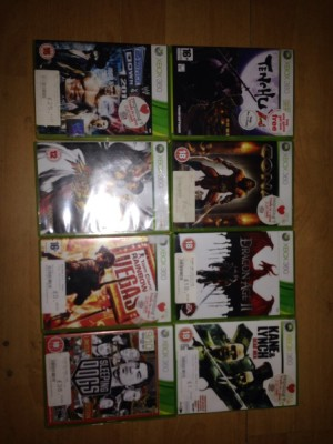 Xbox 360 games  all work and I'm good condition all come with manuals collection only £10 the lot
