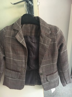 Girls age 7 tweed blazer NEW