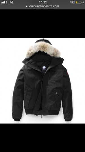 Canada Goose Authentic Chilliwack Bomber Jacket, with tags.