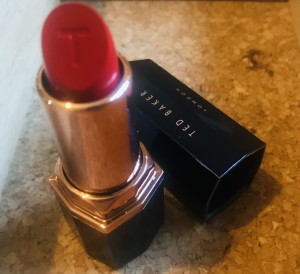 Ted Baker Lipstick Red ~ New.