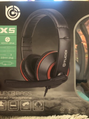 Tucci gaming heatset for all consoles and pc