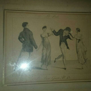 two antique picture for sale from 1940