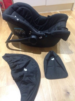 Joie from birth car seat.