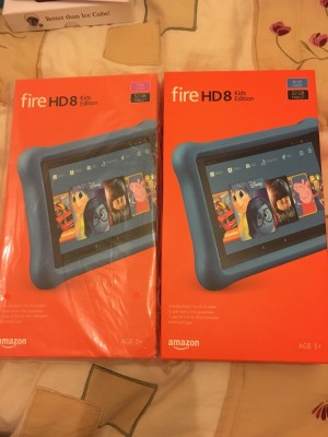 X2 brand new fire HD 8 KIDS EDITION