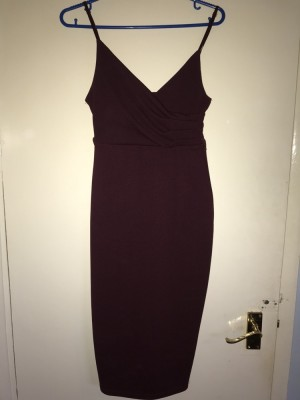New look body con stretchy dress size 8/10
