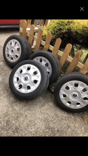 "Official mini wheels 4x15""  open to offers"