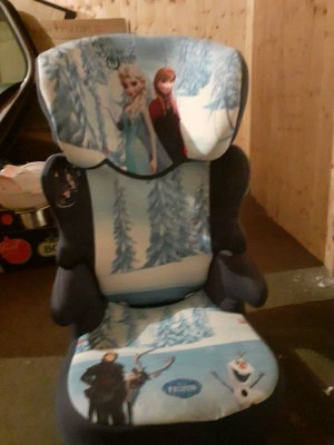 Frozen Car Seat