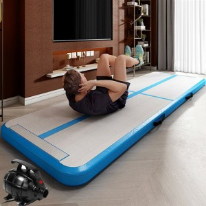 Airtrack Inflatable Tumbling Gymnastics Yoga Mat Home Workout (NEW)