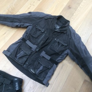 Weiss motorcycle Jacket and trousers