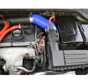 Sport induction air hose improves turbo spool by 500rpm
