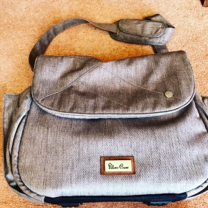 Silver Cross Grey Luxury Baby Nappy Changing Bag With Change Mat Holid