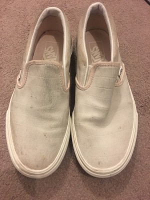 Genuine slip on vans - Size 6