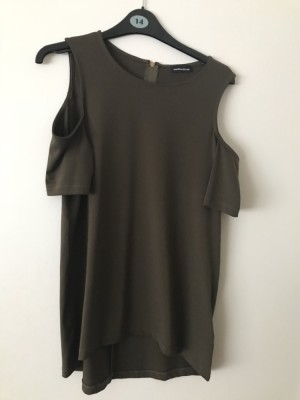 Warehouse - top with cut out shoulders - Size 10