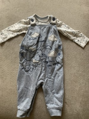Dungarees Outfit 3-6 Months