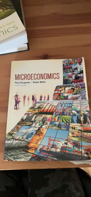 Microeconomics textbook - Krugman and Wells