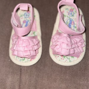Pink grill shoes
