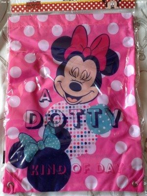Brand new drawstring kids minnie mouse bags (2 for £5)