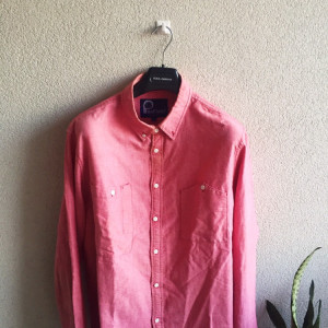 Men's Penfield Salmon Shirt Salmon Size XL In Good Condition