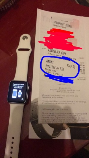 Apple Watch series 1 only 2 months old  £200
