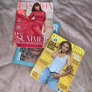 magazines bundle for upcycling / scrapbooking / collage projects