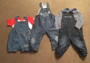Boys Dungarees 12-18month