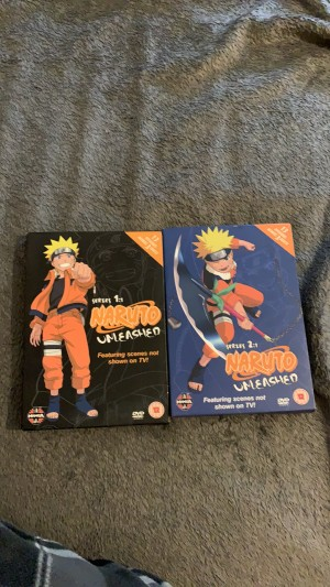 NARUTO SERIES 1 and 2
