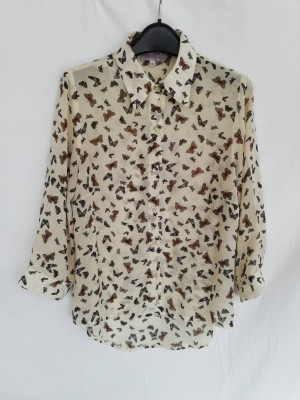 be beau butterfly blouse size 10