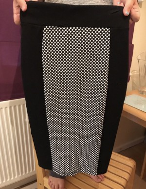 Black Pencil Skirt size 6
