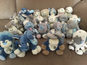 BLUE NOSE TEDDIES