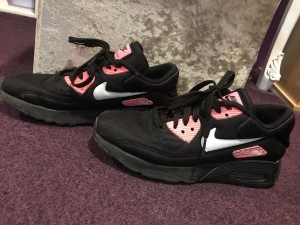 Nike air forces, worn but in very good condition