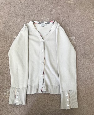 Burberry cardigan age 8