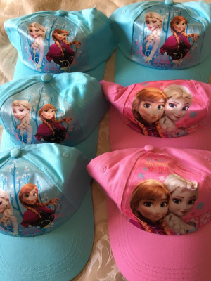 Frozen hats adjustable, new £2 each