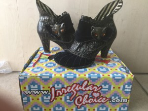 Irregular Choice Miaow Ankle Boots Size 37/4