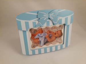 Wooden Baby Photo Frame (New)