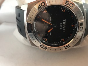 Tissot Touch Racing Watch good condition, works as it should with touch screen.