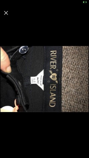 Baby girls river island jeans